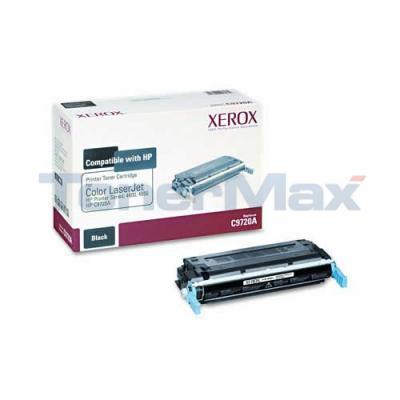 XEROX HP COLOR LJ 4600 TONER CTG BLACK C9720A
